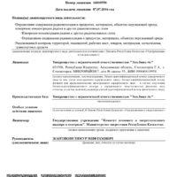 Лицензия Атомная - 0002